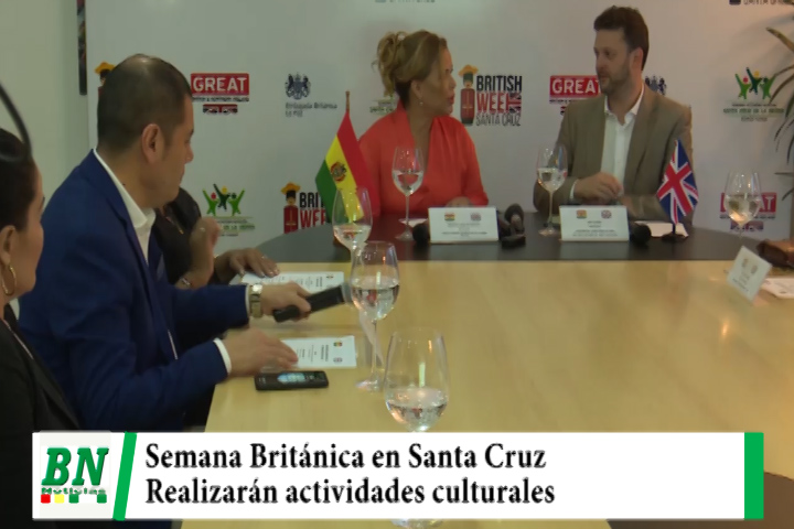 En Santa Cruz lanzan la semana Británica con actividades culturales a realizarse