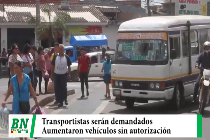 Alcaldía demandará a transportistas por aumentarán movilidades sin autorización