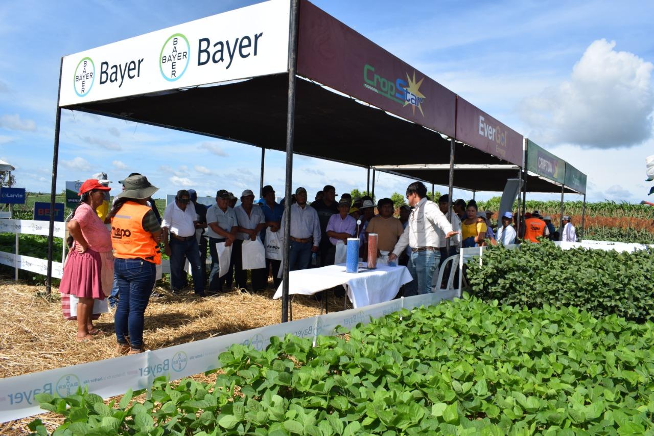 Bayer destacó su Red AgroService  en Exposoya 2020