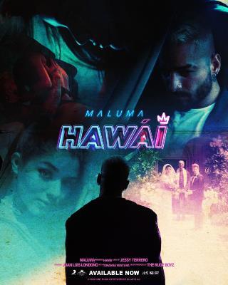"""Maluma estrena su nuevo sencillo """"Hawái"""" con un ritmo que invita al baile"""