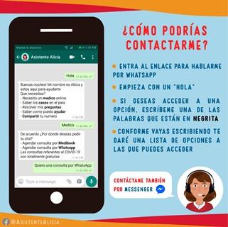 Disponible asistente virtual  creado por alumnos UPSA