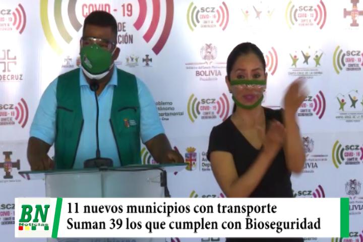 Suman 11 nuevos municipios con transporte interprovincial al cumplir con medidas de Bioseguridad