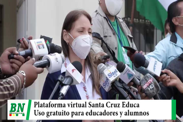 Gobernación pone a disposición de educadores, profesionales y alumnos Plataforma Virtual Santa Cruz Educa