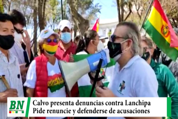 Cívico presenta más demandas contra Fiscal Lanchipa y pide su renuncia y que la justicia cambie