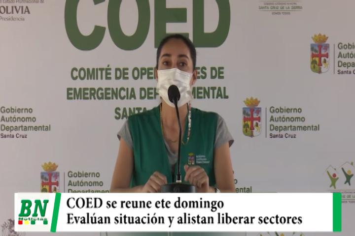 Este domingo se reúne el COED para evaluar situación de cuarentena y alistan liberar sectores