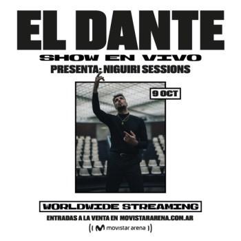 Dante Spinetta se presenta en el Movistar Arena tras romperla en el Cosquín Rock