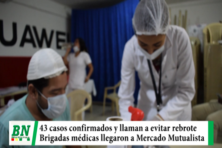 Alerta coronavirus, 43 casos y piden mantener Bioseguridad para evitar rebrote, brigadas en el Mutualista