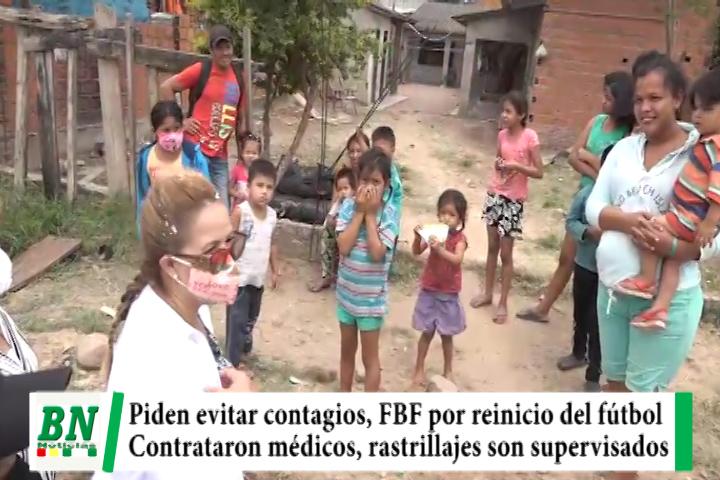 Alerta coronavirus, Sedes pide evitar contagios, FBF por reinicio de campeonato, médicos tienen contratos y Sosa supervisó rastrillajes