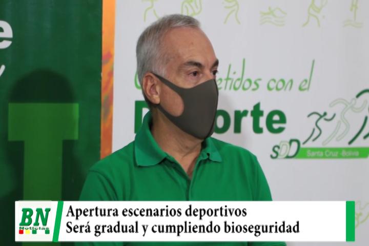 Gobernación reapertura 140 escenarios deportivos y pide cumplir bioseguridad