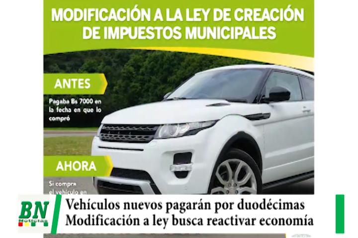 Municipio modifica ley y permite que vehículos nuevos paguen duodécimas para reactivar economía