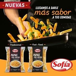 Sofía incluye papas fritas congeladas a su portafolio de productos