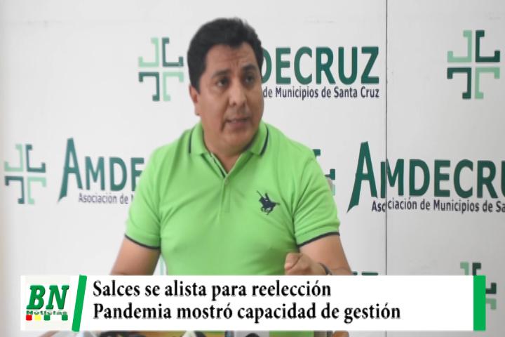 Salces se alista para reelección a la alcaldía de San Ignacio y asegura que pandemia mostró gestión