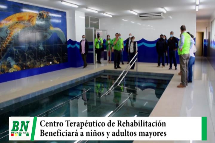 Alcaldía y NNUU supervisan Centro Terapéutico de Rehabilitación y esperan financiamiento que beneficiará a niños y adultos mayores