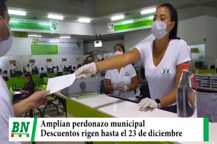 Municipio amplía 50% de descuento en impuestos hasta el 23 de diciembre