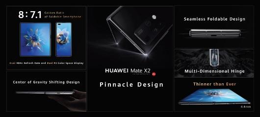 Imagina lo que se viene: Huawei anuncia el HUAWEI Mate X2