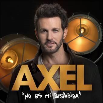 """Axel sorprende a sus fans con sunueva balada """"Vivo por ti"""""""