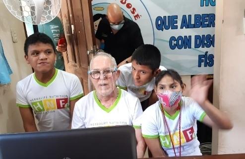 Herbalife Nutrition Foundation y Fundación LA Galaxyrealizaron donación a fundaciones de niños en Bolivia y Paraguay