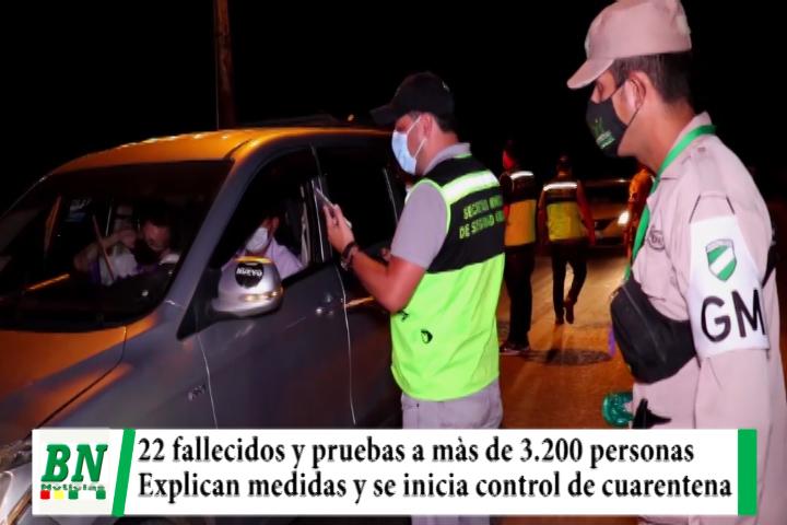 Alerta coronavirus, 22 fallecidos y pruebas a más de 3,200, abastecimiento abierto y rigen restricciones