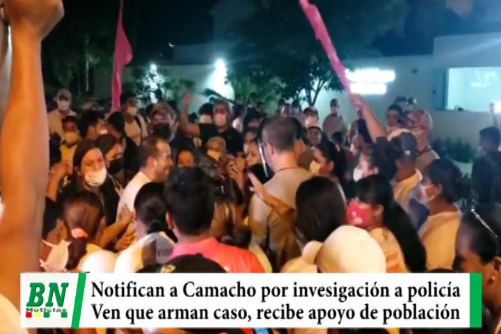 Citan a Camacho para que declare en caso contra policía y ven persecución, asistirá y recibe apoyo