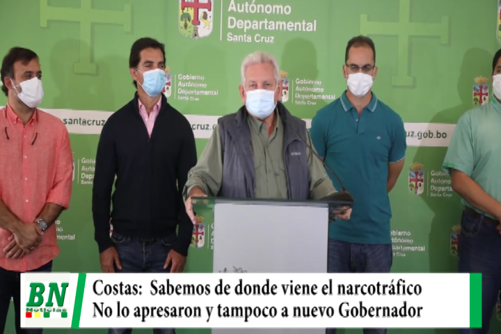 Costas sobre vuelos en Chimoré, se sabe de donde viene el narcotráfico, no me llevaron preso y tampoco a nuevo Gobernador