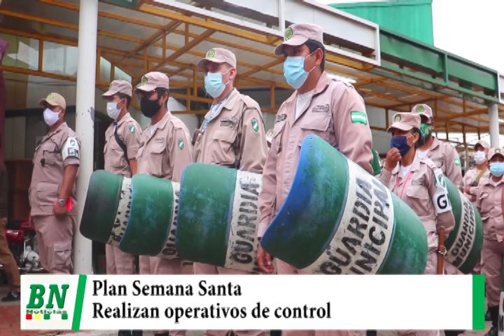 Municipio despliega 1,800 gendarmes en el Plan Semana Santa y realizan control en mercados y espacios públicos