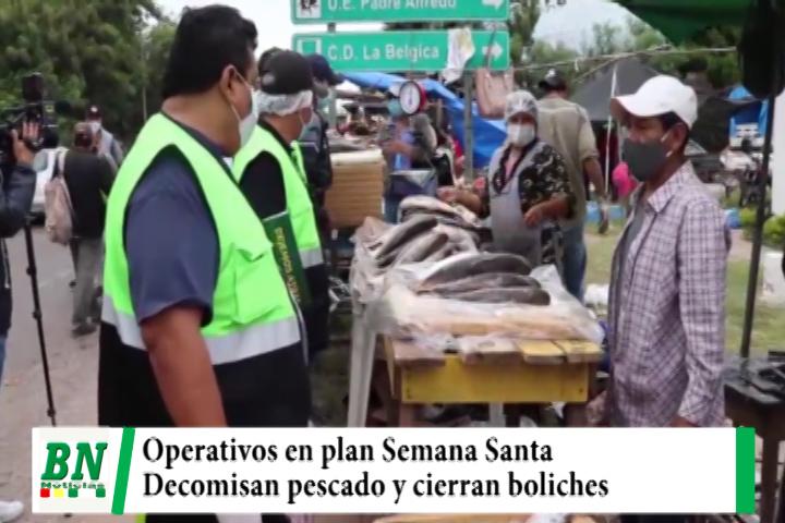 Municipio decomisó 40 kilos de pescado en mal estado y cerró 50 boliches