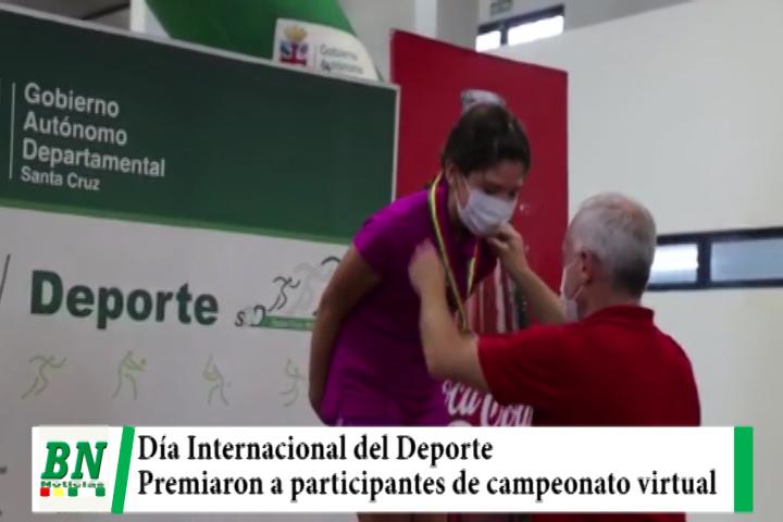Día Internacional del Deporte con entrega de premios a participantes de II versión de campeonato virtual