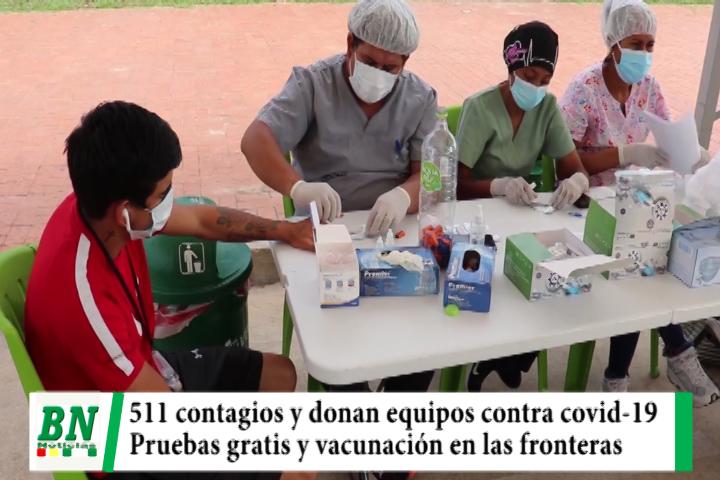 Alerta coronavirus, 511 contagios y llaman a mantener bioseguridad, pruebas gratis vuelven al Cambódromo, vacunan en la frontera