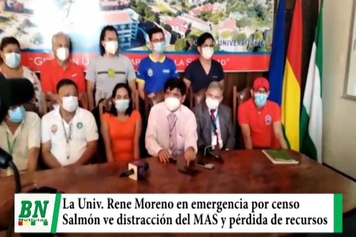 Universidad Rene Moreno en emergencia por censo y ALD ve distracción del MAS y pérdida de recursos