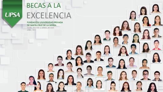 UPSA presenta a los GanadoresBeca a la Excelencia 1/2021