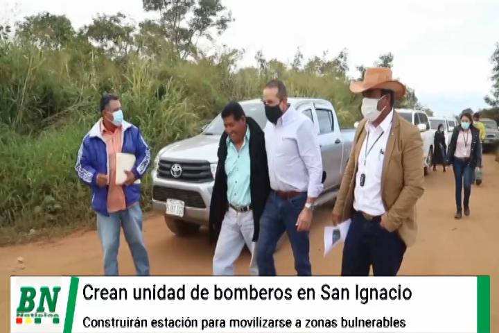 Gobernación crea grupo de bomberos forestales y alistan construcción de estación en San Ignacio