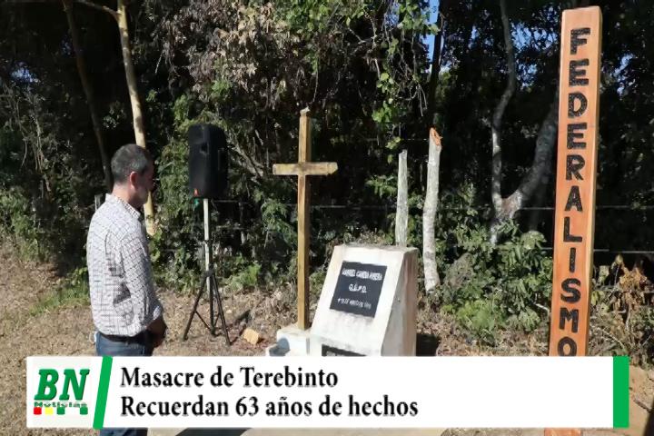 Recuerdan 63 años de la masacre de Terebinto por cuestiones políticas