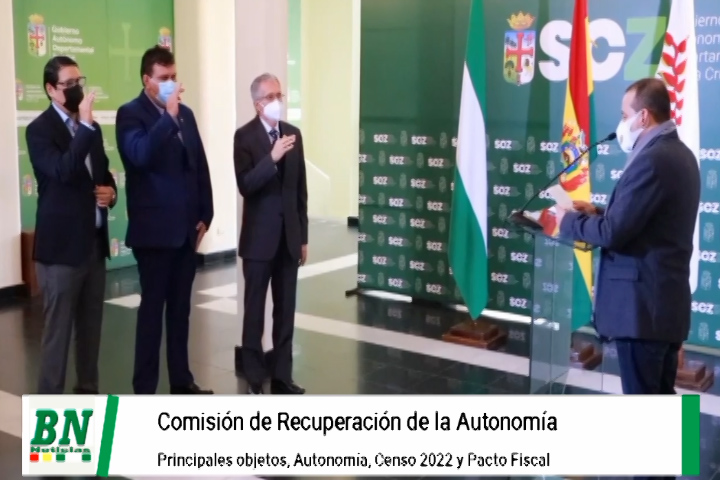 Posesionan a Antelo en comisión Recuperación de la Autonomía y deberá trabajar en censo 2022 y Pacto Fiscal