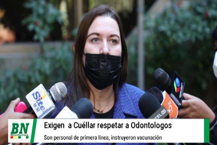 Piden respeto a diputado Cuellar por calificativo contra odontólogos