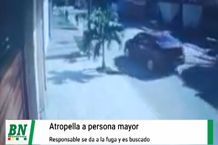 Mujer mayor es atropellada y el conductor se da a la fuga del Barrio Guaracachi calle 4
