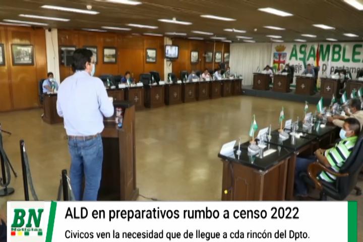 ALD y Cívicos rumbo al censo 2022 piden que encuestadores lleguen hasta el último rincón