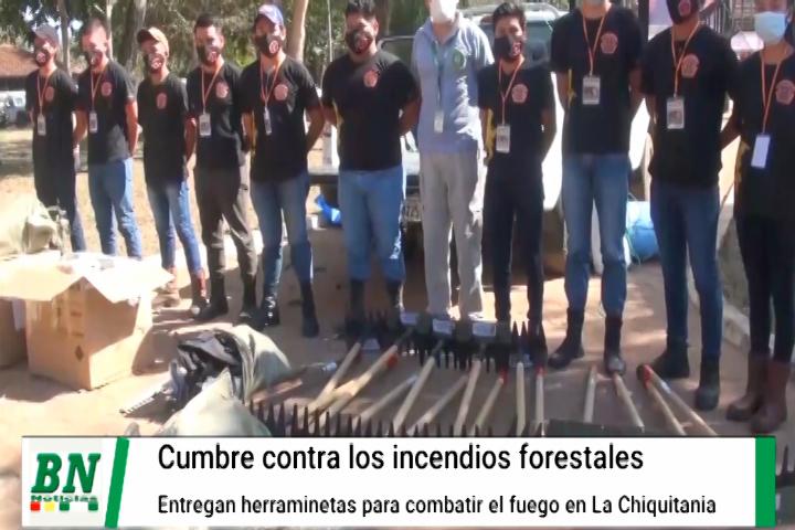 Cumbre contra los incendios forestales y protección de La Chiquitania buscando prevenir nuevos desastres