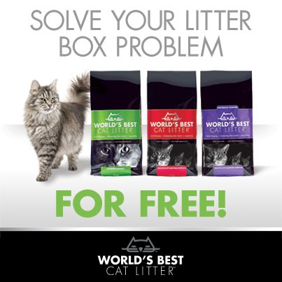 World's Best Cat Litter Offer