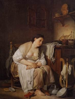 Jean-Baptiste Greuze - Indolence