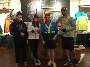 group run at Nashville Running Company