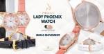 الإصدار الأول للساعة النسائية LPH01 من شركة P4M