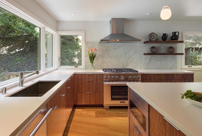 Midcentury Modern Kitchen Remodel in the Oakland Hills on Modern Kitchen Remodel  id=69850
