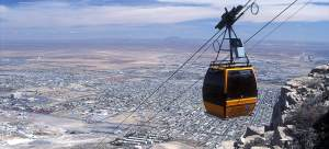 WYLER AERIAL TRAMWAY AT FRANKLIN MOUNTAINS STATE PARK