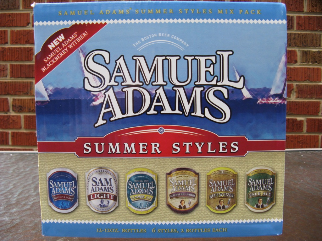 Sam Adams Summer Mix