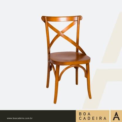 Cadeira de Madeira Recife Gold