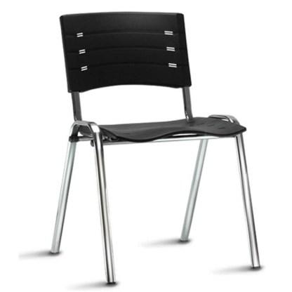 Cadeira de Metal Empilhável Campos 02