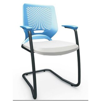 Cadeira Executiva com Braço CIDREIRA-Interlocutor-preta