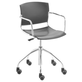 Cadeira Secretária Giratória com Braço ARANDU