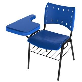 Cadeira Universitária com Prancheta e Porta Livros APIAÍ