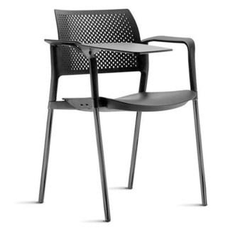 Cadeira Universitária com Prancheta e Porta Livros CAMBUCI